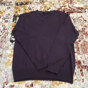 DKNY Men's purple sweater Sz Small